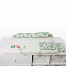 Prebaľovacia podložka Joy toTs-smarTrike s 2 obliečkami sovička 100% satén bavlna