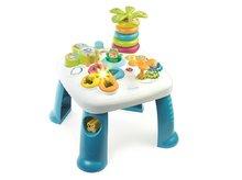 SMOBY 211169 Cotoons kék tanulóasztal funkciókkal hangokkal és fényekkel + 12 hó kortól