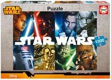 Puzzle Hvězdné války Educa 1 500 dílů