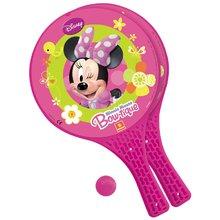 Komplet tenis na mivki Minnie Mondo z dvema loparjema in žogico