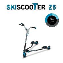 smarTrike 2230600 modro-čierna kolobežka - lyžovanie na ceste SkiScooter Z5 Blue od 5 rokov