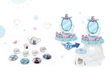 SMOBY 24996-7 pipere asztal székkel 2in1 Frozen és porcelán teáskészlet Frozen 12 db