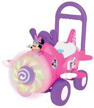 Elektronické odrážadlo Disney Kiddieland lietadlo Minnie so svetlom a zvukom od 12 mesiacov ružové