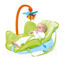 Dětské sedačky - Lehátko Cotoons Smoby s motýlkem pro nejmenší modro-zelené_0