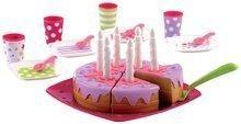 Nádobí a doplňky do kuchyňky - 2613 c ecoiffier torta set