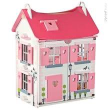 Drevené domčeky pre bábiky
