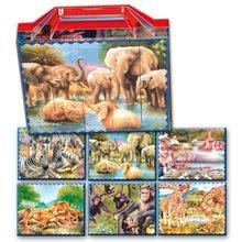 Dohány 604-5 veľké rozprávkové kocky safari 20 ks od 3 rokov