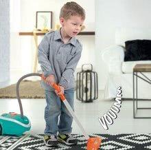 Hry na domácnost - Set úklidový vozík s elektronickým vysavačem Clean Smoby a se žehlicím prknem a žehličkou_4